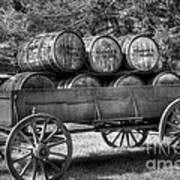 Roll Out The Barrels Print by Mel Steinhauer
