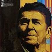 Ronald Reagan Print by Corporate Art Task Force