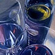 Rosenblum And Glasses Print by Donna Tuten