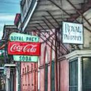 Royal Pharmacy Print by Brenda Bryant