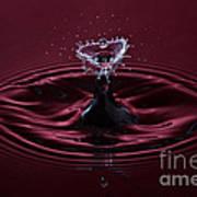 Rubies And Diamonds Print by Susan Candelario