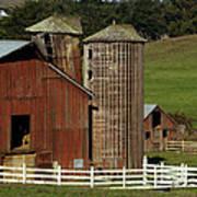 Rural Barn Print by Bill Gallagher