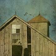 Rural Iowa Barn 5 Print by Cassie Peters