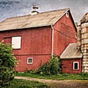 Rustic Barn Print by Bill Wakeley