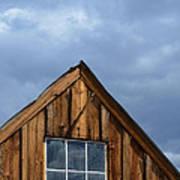 Rustic Cabin Window Print by Jill Battaglia