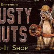 Rusty Nuts Print by JQ Licensing