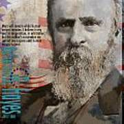 Rutherford B. Hayes Print by Corporate Art Task Force