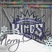 Sacramento Kings Print by Joe Hamilton