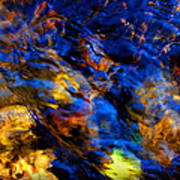 Sacred Art Of Water 4 Print by Peter Cutler