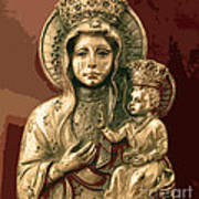 Sacred Icon Print by Patricia Januszkiewicz
