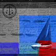 Sail Sail Sail Away - J179176137-01 Print by Variance Collections