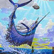 Sailfish Football Off0030 Print by Carey Chen
