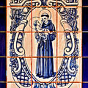 Saint Anthony Of Padua Print by Christine Till