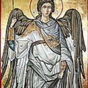 Saint Michael Print by Filip Mihail