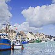 Saint Vaast La Hougue Normandy France Print by Colin and Linda McKie