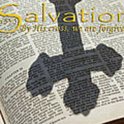 Salvation By His Cross Isaiah Print by Robyn Stacey