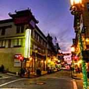 San Francisco - Chinatown 010 Print by Lance Vaughn