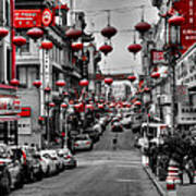 San Francisco - Chinatown 014 Print by Lance Vaughn