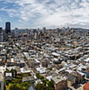 San Francisco Daytime Panoramic Print by Adam Romanowicz