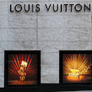 San Francisco Louis Vuitton Storefront - 5d20546 Print by Wingsdomain Art and Photography