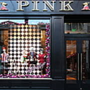 San Francisco Pink Storefront - 5d20565 Print by Wingsdomain Art and Photography