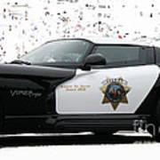 San Luis Obispo County Sheriff Viper Patrol Car Print by Tap On Photo