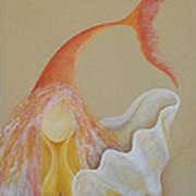 Sand Soul Print by Catt Kyriacou