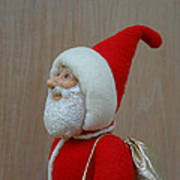 Santa Sr. - Keeping The Faith Print by David Wiles