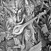 Saraswati - Supreme Goddess Print by Karon Melillo DeVega