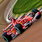 Schumacher Bend Print by Blake Richards