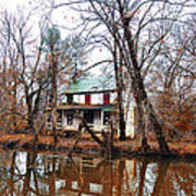 Schuylkill Canal Port Providence Print by Bill Cannon