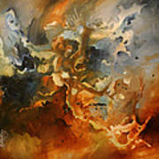 'searching For Chaos' Print by Michael Lang