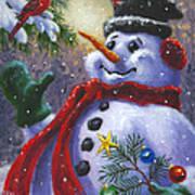 Seasons Greetings Print by Richard De Wolfe