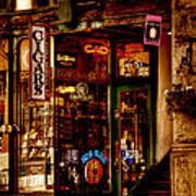 Seattle Cigar Shop Print by David Patterson