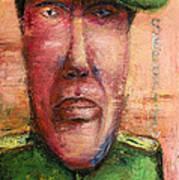 Security Guard - 2012 Print by Nalidsa Sukprasert