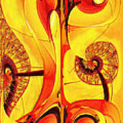 Seedlings Print by Wendy J St Christopher