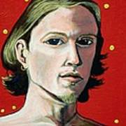 Self Portrait 1995 Print by Feile Case