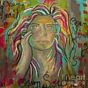 Self Portrait Print by Gina Ahrens