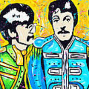 Sgt. Pepper's Lonely Hearts Club Print by Tara Richelle