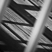 Shadows Of Carpentry Print by Christi Kraft