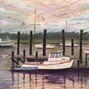 Shem Creek Print by Ben Kiger