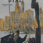 Ship Approaching Land Print by Edward Hopper