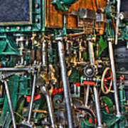 Ship Engine Print by Heiko Koehrer-Wagner