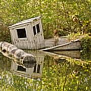 Shipwreck Silver Springs Florida Print by Christine Till