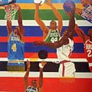 Shoots N Hoops Print by Leslye Miller