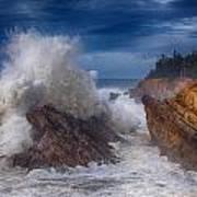 Shore Acre Storm Print by Darren  White