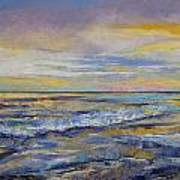 Shores Of Heaven Print by Michael Creese