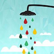 Shower  Print by Mark Ashkenazi