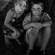 Siblings Print by Julie Dant