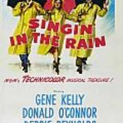 Singin In The Rain Print by Georgia Fowler